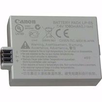 Bateria Canon Lp-e5 Digital Rebel T1i Xsi Xs Eos 500d 1 Ba18