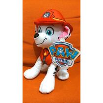 Paw Patrol Peluche Tela Marshall 28 Cm. Nickelodeon Nick Jr.