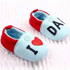 Babuchas Pantuflas Bebes I Love Mom/dad