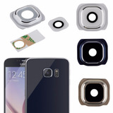 Lente Protector Vidrio Cámara Trasera Galaxy S6, Blanco