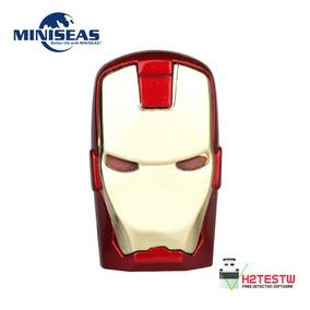 Memoria Usb De 8 Gb Cabeza De Iron Man