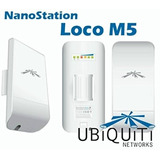 Nano Station Loco M5 Indoor/outdoor 5ghz, 13dbi Airmax Cpe