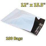 100 12x15.5 Poly Sobres Envío A Sobres Auto Plástico Sellar