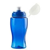 Kit X7 Termo Botella Botilito En Plastico Siluet 500 Ml-azul