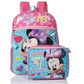 Mochila E Lancheira Minnie Disney