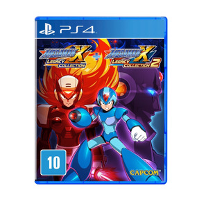 Jogo Mega Man X Legacy Collection 1 + 2