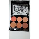 Petaca Profesional Para Maquillaje 6 Colores Compactos Mate