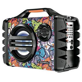 Caixa Amplificadora Mondial Mco-06, Bateria Recar. 120w Rms
