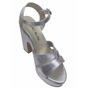 Sandalia Mujer Zapato Plataforma Taco Fiesta Col 2018