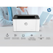 Hp M107w Lj 21ppm Wifi 4zb78a