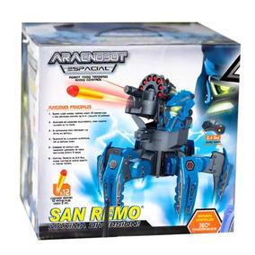 Robot Lanza Dardos Aracnobot Espacial San Remo Tv