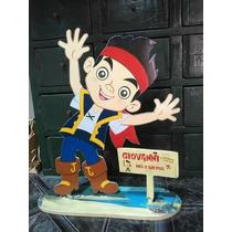 Centros De Mesa Disney Jake Y Los Piratas!!! Fibrofacil