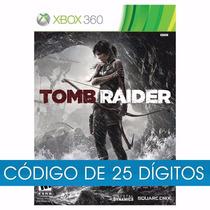 Tomb Raider - Xbox 360 - Codigo 25 Digitos - Midia Digital
