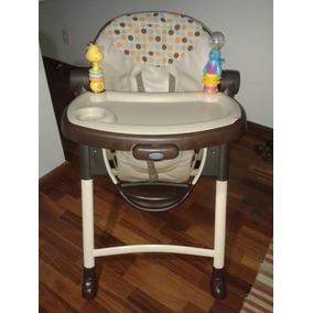 Cadeirao De Bebe Para Refeicao Graco Contempo Dots - Usada