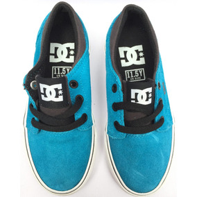Tenis Dc Shoes Youth Trase Gamuza Talla 17.5cm