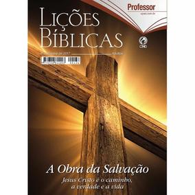 Revista Escola Bíblica Dominical - 4º Tri / 2017 - Capa Dura