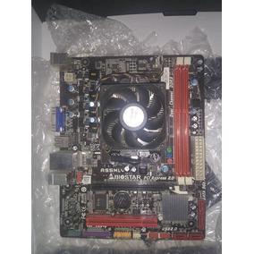Tarjeta Madre A55mlv Socket Fm1 Con Procesador A6 3500