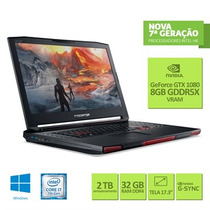 Notebook Gamer Acer Predator 17x Intel Core I7 32gb 256gb Ss