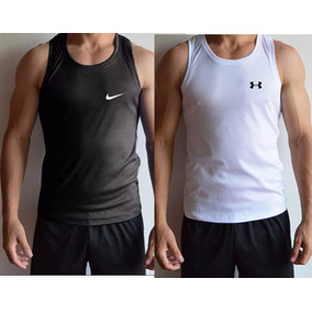 Franelilla Nike Under Armour Slimfit Gym Crossfit Fitness