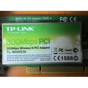 Tarjeta Pci Tplink 300mbps 3 Antena