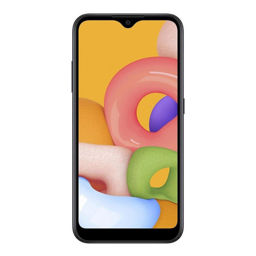 Samsung Galaxy A01 32 GB negro 2 GB RAM