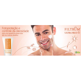 Filtrum Ultra Seco Fps30 Creme Gel Hidratante 60g Prot.solar