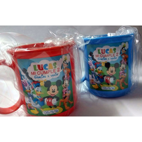 Tazas Plásticas Personalizadas Souvenirs Pack X 10 Unidades