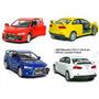 Miniatura Carro Coleção Mitsubishi Lancer Evolution X 1/36