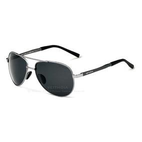 Óculos Polarizado Aviador Alloy Masculino Feminino Uv400