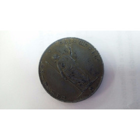 Moeda Antiga : 5 Lire Italiane - Ano 1848