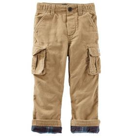 Pantalon Cargo Corderoy - Carters - 18m - Importado Usa