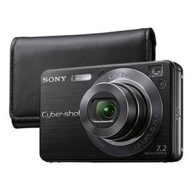 Câmera Digital Sony Cyber-shot Dsc-w125+cartão De Memória 1g