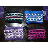Monederos Tejidos Al Crochet