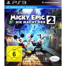 Disney Epic Mickey 2 Ps3 Psn Jogo Infantil Envio Na Hora