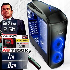 Cpu Pc Gamer A8 Quad Core 8 Gb 1 Gt 1030 2 Gb Roda Tudo
