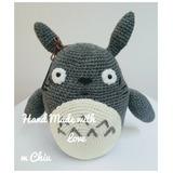 Muñeco Amigurumi Inspirado En Totoro Tejido (estudio Ghibli)