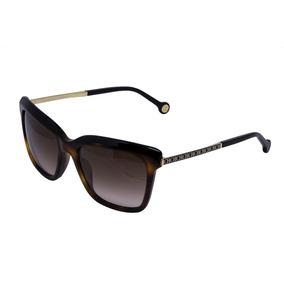 23b2ff2354be9 Caixa Oculos Carolina Herrera - Óculos De Sol no Mercado Livre Brasil