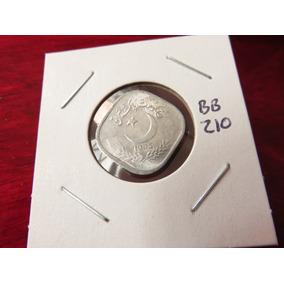 Bb#210 Moneda Del Mundo Pakistan Cuadrada