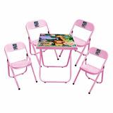 Mesa Infantil Criança Com 4 Cadeira Super Promoção