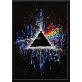 Quadro Rock Pink Floyd The Dark Side Of The Moon Arte