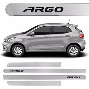 Friso Lateral Fiat Argo Prata Bari