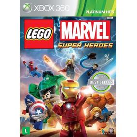 Lego Marvel Super Heroes - Xbox 360 - Original Novo