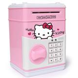 Alcancia P/ Regalo Hello Kitty Con Teclado Contraentrega