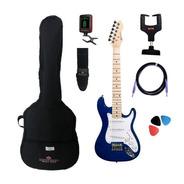 Kit Guitarra Michael Infantil Junior Gm219n Metallic Blue