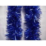 1 Árbol De Navidad Decoraciones Navideñas Azules 9cmx2m Por