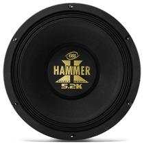 Alto Falante Woofer Eros Hammer 12 2600w 5.2 K Medio Grave