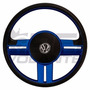 Volante Esportivo Rallye Surf Azul Fusca Até 76 C/ Cubo