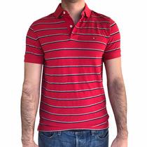 Camisa Polo Masculina Tommy Hilfiger Original - Tam P - P30
