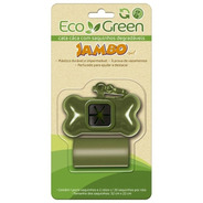 Kit Porta Saquinho Eco Green 2 Rolos Jambo Pet Cata Caca