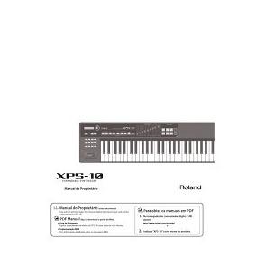 Manual Roland Xps10 E Xps 30 Em Português